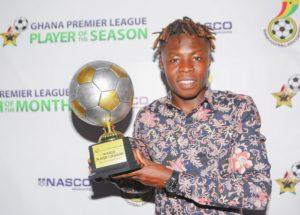 Hearts of Oak midfielder Ibrahim Salifu elated to be adjudged GPL Player of the Season