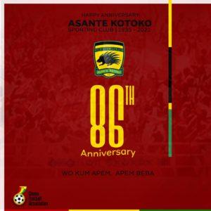 'Happy anniversary' – Ghana FA celebrates Kotoko on 86th anniversary