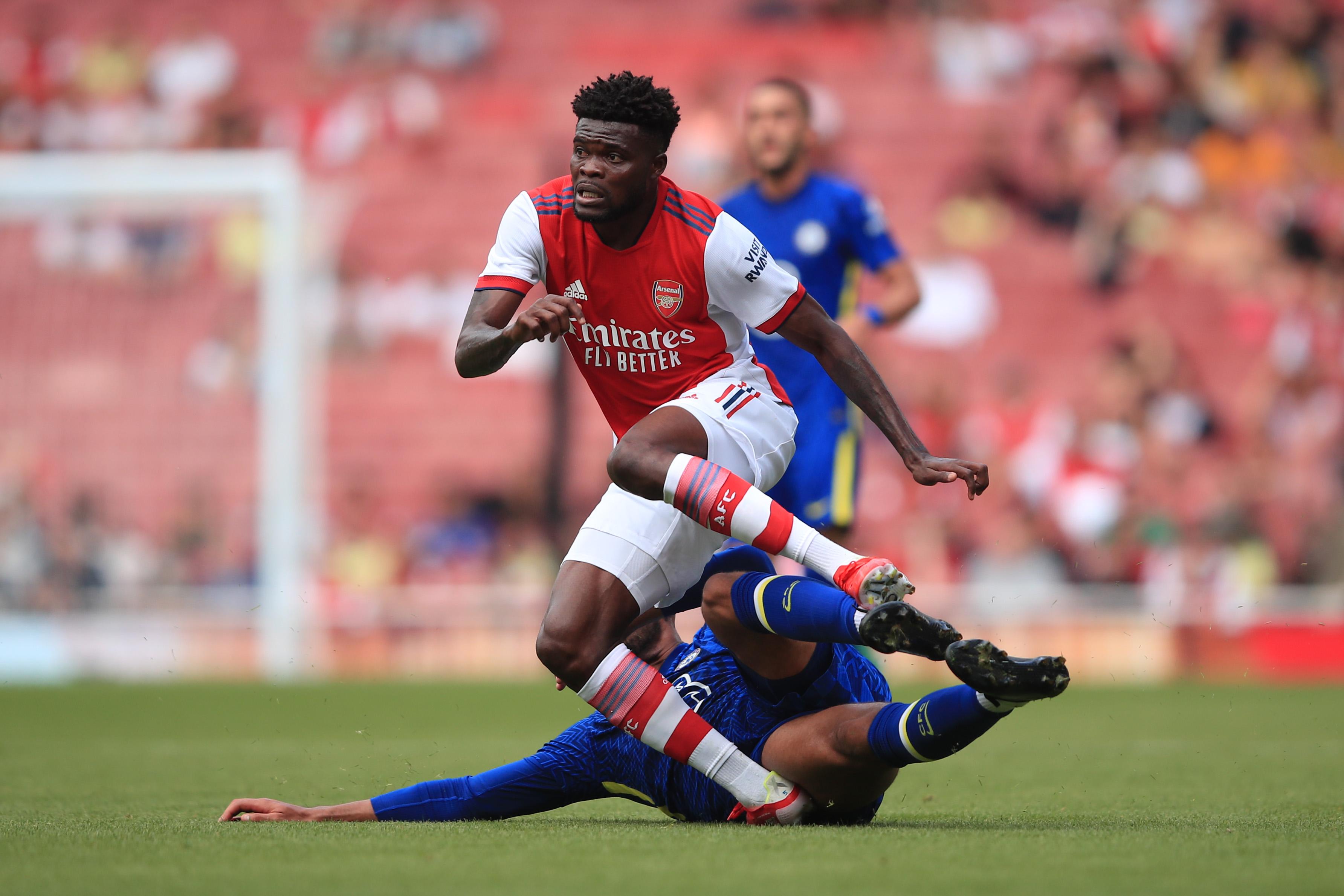 Thomas Partey's injury is 'not looking good' - Arsenal boss Arteta
