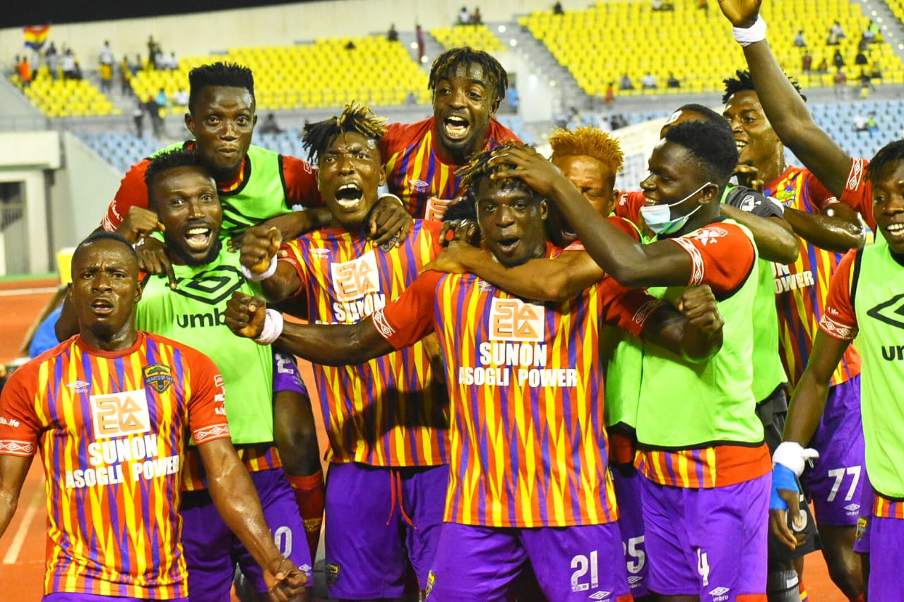 VIDEO: Hearts of Oak hammer Medeama SC 3-0 to book place in MTN FA Cup final