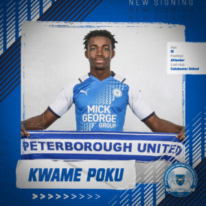 Ghanaian youngster Kwame Poku joins Peterborough on four-year deal