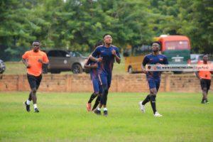 PHOTOS: Legon Cities FC commence pre-season training ahead of 2021/2022 season