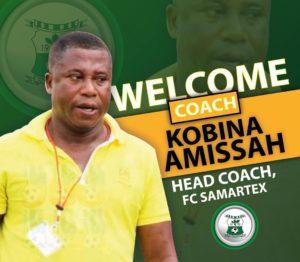 I can qualify Samartex to Ghana Premier League - Kobina Amissah