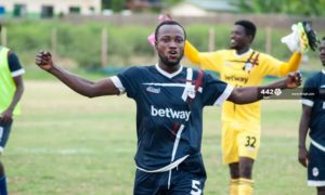 Medeama sign George Amoako from Liberty Professionals on two-year deal