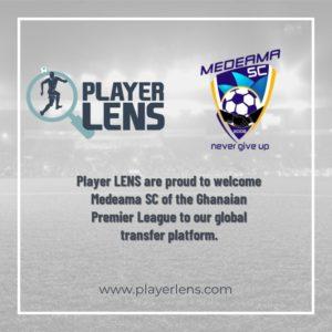Medeama sign onto Global Digital Platform Player Lens