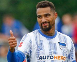 Ghanaian midfielder KP Boateng features as Hertha Berlin lose to Wolfsburg