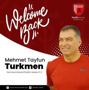 Pacific Heroes name Mehmet Tayfun Turkmen as technical director
