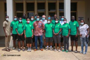 GFA boss Kurt Okraku visits Black Queens & Princesses in Prampram
