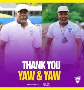 Confirmed: Medeama part ways with Yaw Preko and Yaw Acheampong