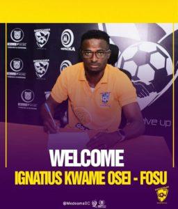 Confirmed: Ignatius Osei-Fosu joins Medeama SC as new head coach on a three-year deal