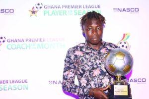 Sensational Salifu named GPL best player of the season
