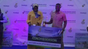 Coach Samuel Boadu named Ghana Premier League coach of the season