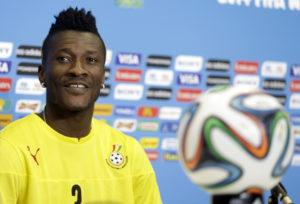 I am not being respected by Ghanaians - Legendary striker Asamoah Gyan