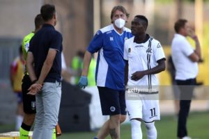 Mister Motta is very good with languages, but everyone has to learn Italian - Gyasi