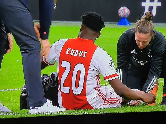 'It's very annoying' – Ajax coach Erik ten Hag disappointed with latest Kudus injury