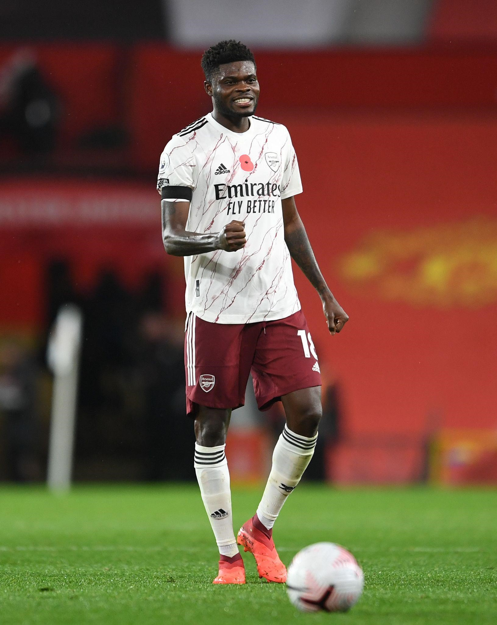 Ghana midfielder Thomas Partey aiming to stay fit to make impact at Arsenal