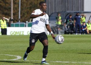 Ghanaian attacker Koby Arthur scores spectacular goal for Dover Athletic in draw against Weymouth