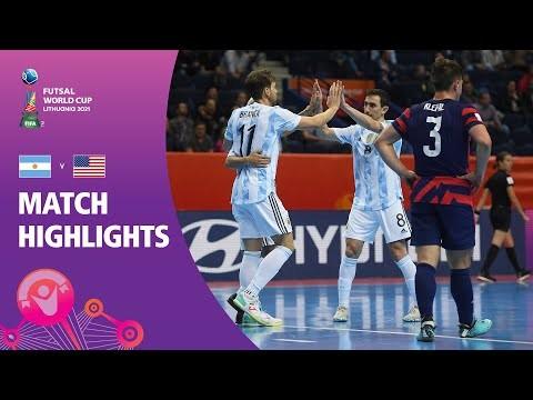 Argentina v USA | FIFA Futsal World Cup 2021 | Match Highlights