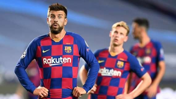 LIGA - Gerard Piqué on loss against Bayern and support for Roberto