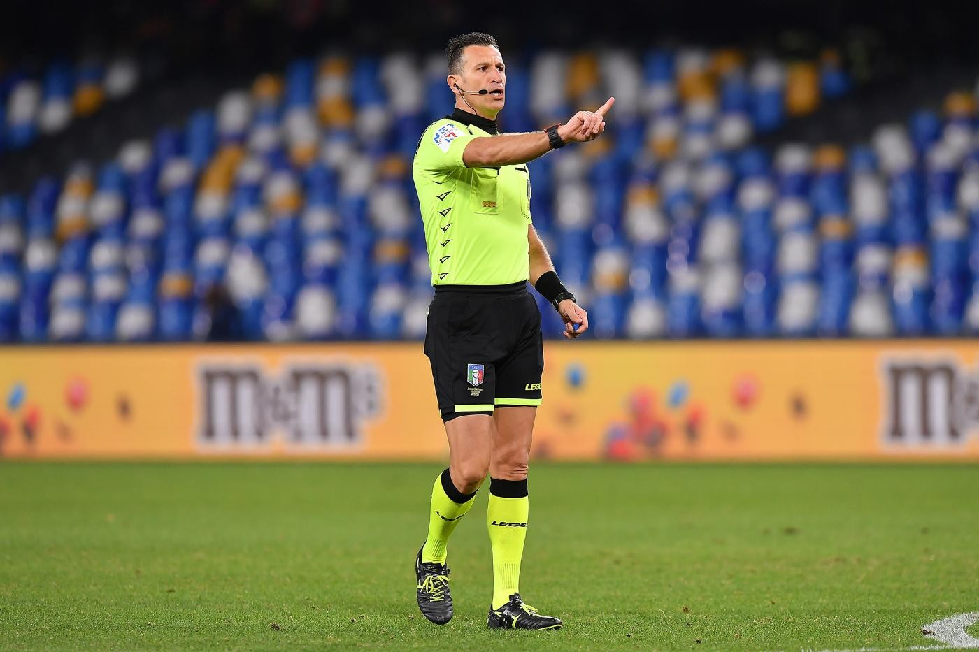 SERIE A TIM, THE REFEREES FOR THE 4TH ROUND