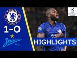 Chelsea 1-0 Zenit St Petersburg   Lukaku Hits Winner For The Blues   Champions League