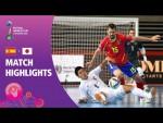 Spain v Japan   FIFA Futsal World Cup 2021   Match Highlights