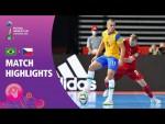Brazil v Czech Republic   FIFA Futsal World Cup 2021   Match Highlights