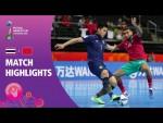 Thailand v Morocco   FIFA Futsal World Cup 2021   Match Highlights