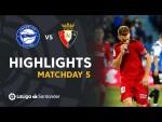 Resumen de Deportivo Alavés vs CA Osasuna (0-2)