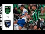 HIGHLIGHTS: Austin FC vs. San Jose Earthquakes | September 18, 2021