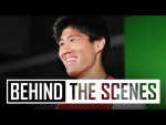 Takehiro Tomiyasu's first day at The Arsenal | Behind the scenes