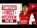 Takehiro Tomiyasu's first interview | Welcome to The Arsenal | Part One