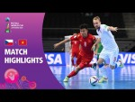 Czech Republic v Panama | FIFA Futsal World Cup 2021 | Match Highlights