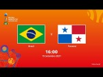 Brasil v Panamá | Copa do Mundo FIFA de Futsal de 2021 | Partida completa