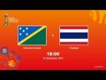 Solomon Islands v Thailand | FIFA Futsal World Cup 2021 | Full Match