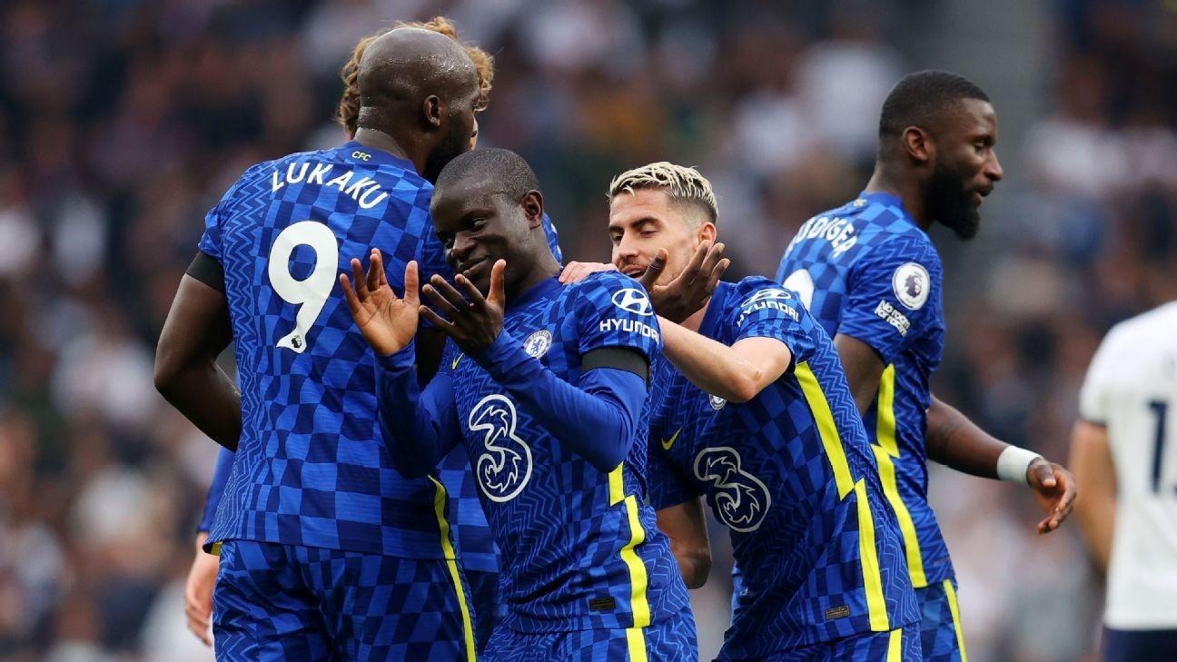 Chelsea's second-half goal flurry sinks Spurs