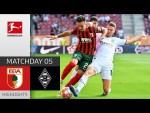FC Augsburg - Borussia M'gladbach 1-0 | Highlights | Matchday 5 – Bundesliga 2021/22