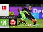 VfL Wolfsburg - Eintracht Frankfurt 1-1 | Highlights | Matchday 5 – Bundesliga 2021/22