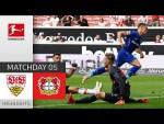 VfB Stuttgart - Bayer 04 Leverkusen 1-3 | Highlights | Matchday 5 – Bundesliga 2021/22