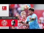 1. FSV Mainz 05 - SC Freiburg 0-0 | Highlights | Matchday 5 – Bundesliga 2021/22