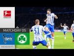 Hertha Berlin - Greuther Fürth 2-1 | Highlights | Matchday 5 – Bundesliga 2021/22