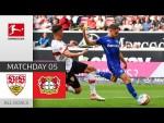 Wirtz inspires his team to win! | VfB - Leverkusen 1-3 | All Goals | Matchday 5 – Bundesliga 21/22