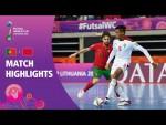 Portugal v Morocco | FIFA Futsal World Cup 2021 | Match Highlights