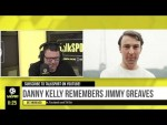"""""""HE WAS MY IDOL!"""" Danny Kelly pays his respect to his footballing hero Jimmy Greaves."""