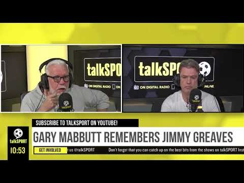 """""""HE WAS ONE OF THE ALL-TIME GREATS."""" Gary Mabbutt pays tribute to Spurs legend Jimmy Greaves."""