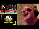 QPR V EVERTON PITCH INVASION😨 Ally McCoist bursts into laughter reviewing QPR v Everton