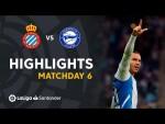 Resumen de RCD Espanyol vs Deportivo Alavés (1-0)