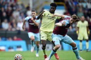 Thomas Partey suffer fresh injury at Arsenal in narrow win at Burnley