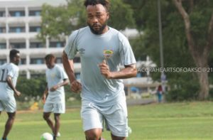 CAF CL: Gladson Awako set to be available for Hearts of Oak in next game against Wydad