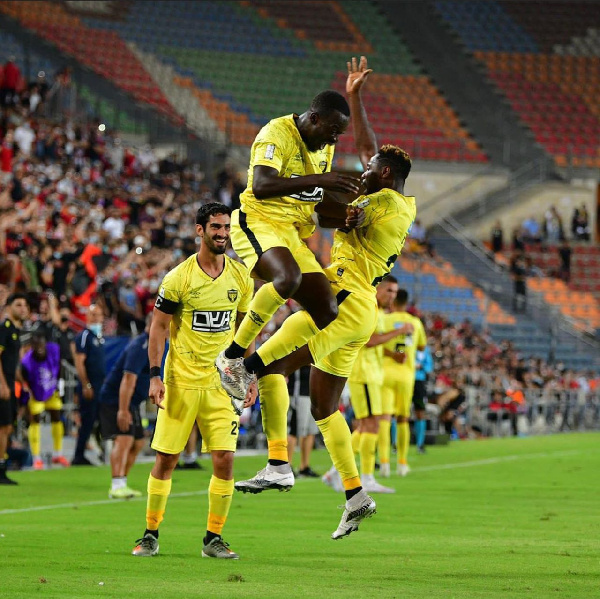 Ghana's Edwin Gyasi excited after winning MoTM award in Israel